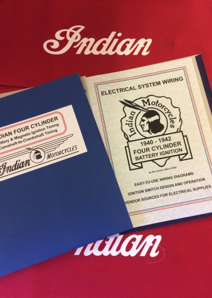 vintage indian ignition and wiring books for sale indian rider  1946 indian chief wiring diagram #14