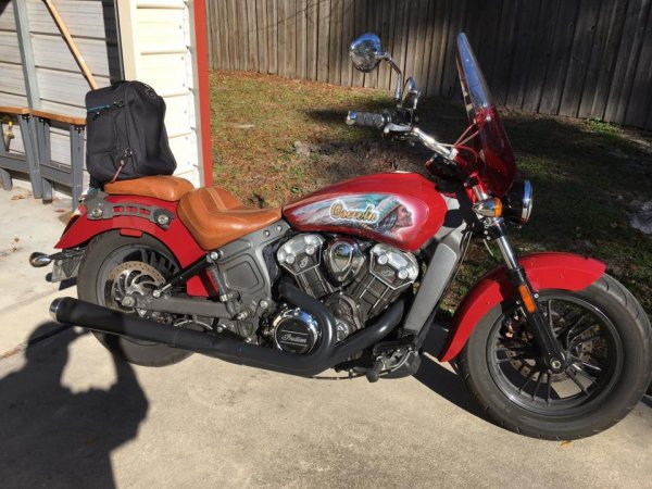 Improved Stock Exhaust | Indian Rider - Indian Motorcycle Forums