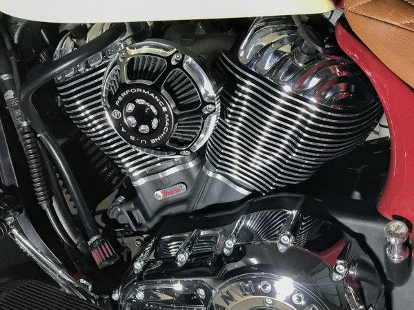 Wimmer Air Cleaner   Indian Rider - Indian Motorcycle Forums